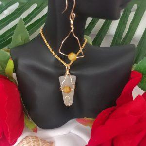 Clarimar Set Handmade Jewelry Astralba Flame