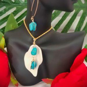 Coralis Sea Set Handmade Jewelry Astralba Flame